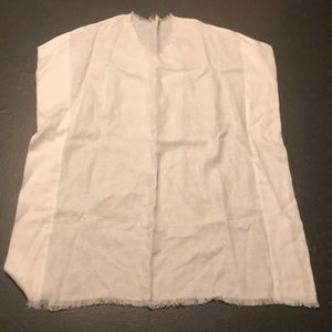 Capri white swimsuit coverup preowned